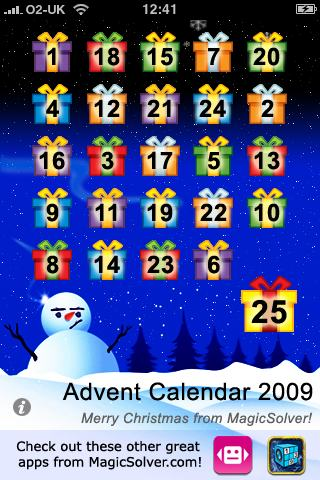 Advent Calendar screenshot