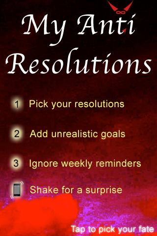 Anti Resolutions